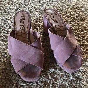 75b9ff81edc9 Sam Edelman pink platform slide sandals